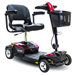 Go-Go® LX with CTS Suspension 4-Wheel - The Go-Go® LX with Comfort-Trac Suspension (CTS)